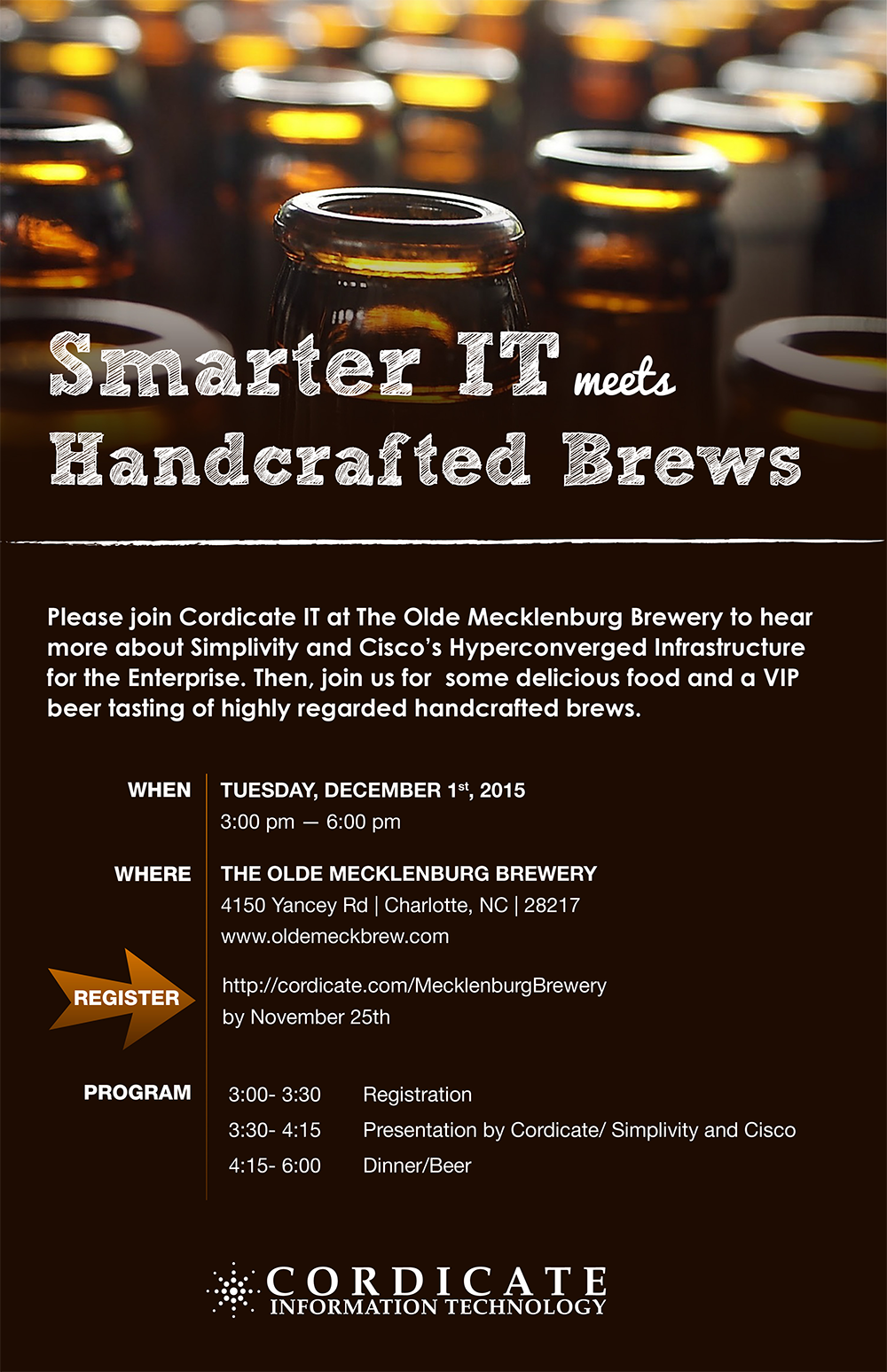The Olde Mecklenburg Brewery | Smarter IT meets Handcrafted Brews