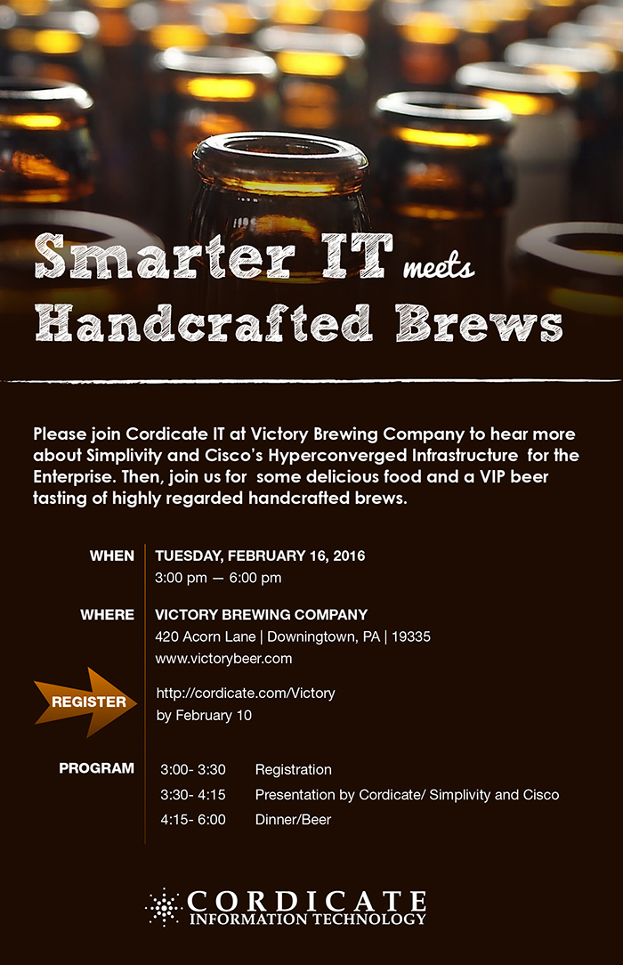 Victory Brewing | | Smarter IT meets Handcrafted Brews | Cordicate IT