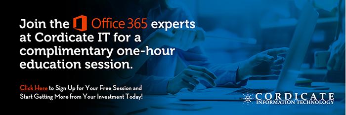 Cordicate IT Micosoft Office 365