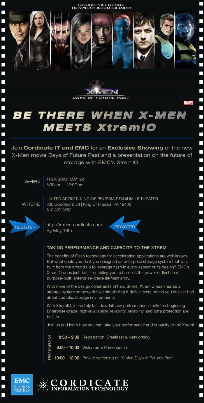 XMEN Cordicate IT EMC2