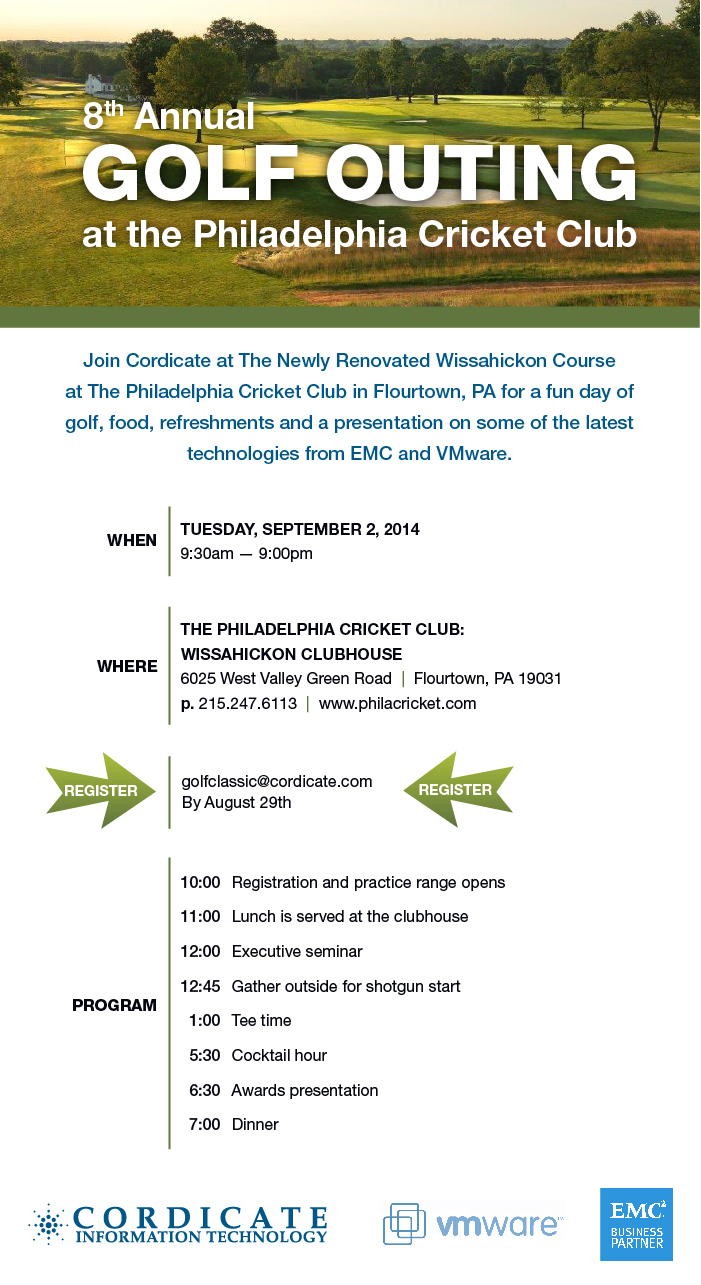 Cordicate Golf Outing