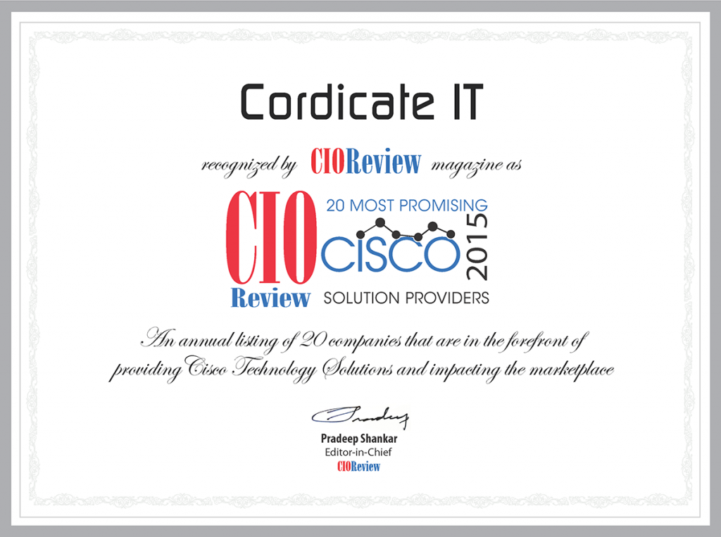 CIO Review Awards 2015